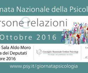 Giornata Nazionale della Psicologia – Conferenza di presentazione